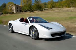 458 White Price 458 Spider Review Specs And Photos