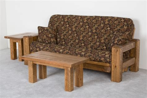log couches rustic barnwood futon barnwood couch or sofa
