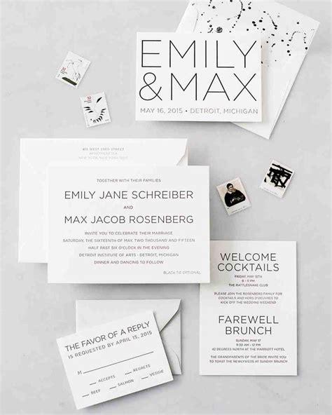 painted wedding invitations martha stewart 1000 images about wedding invitations on