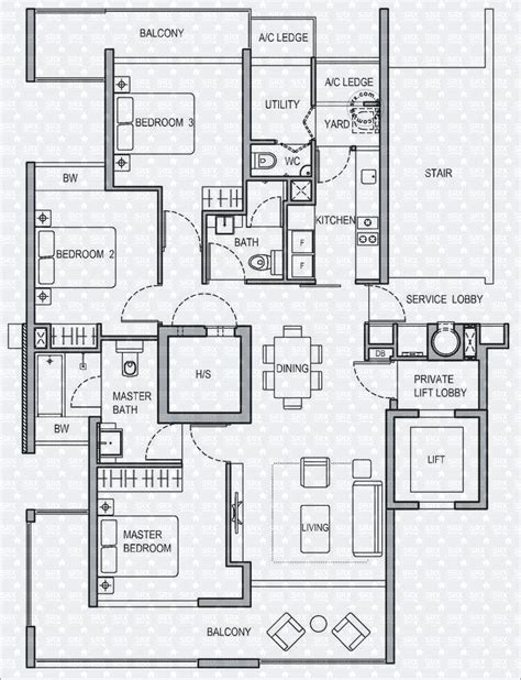Holland Residences Floor Plan | floor plans for holland residences condo srx property