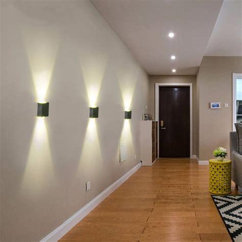 Lights For Bedroom Walls Aluminum 2w Modern Led Wall Light Up Sconce Lighting Bedroom L Alex Nld