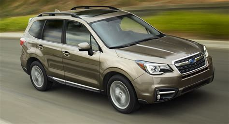 how does cars work 2004 subaru forester lane departure warning 2017 subaru forester gains revised styling and more safety features