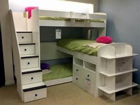 Ladder Desk Ikea Triple Bunk Bed Home Decor Pinterest Triplets The
