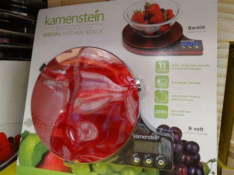 Kamenstein Digital Kitchen Scale by Kitchenaid Stainless Steel Dish Drying Rack