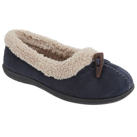 Sleepers Slippers by Sleepers Toggle Trim Collar