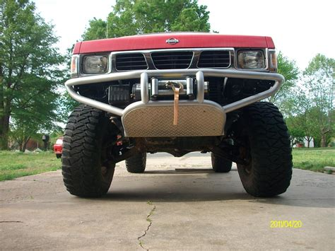 nissan pickup custom custom front bumper for nissan hardbody google search