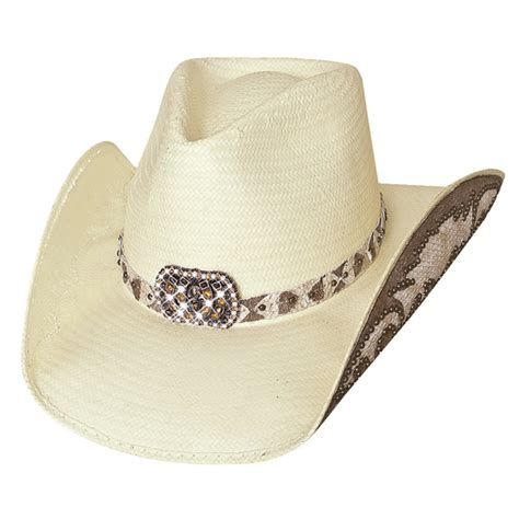 womens straw cowboy hat