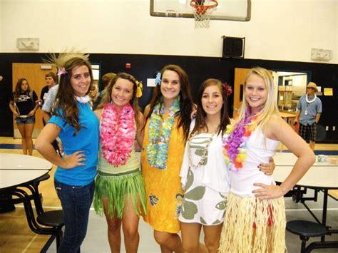 hawaiian day september  hawaiian outfit hawaiian fancy dress themed outfits