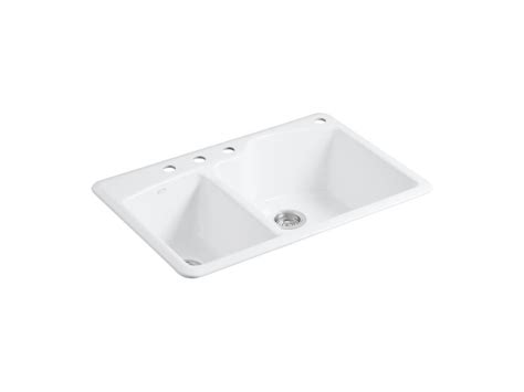 Kohler Wheatland Sink by Kohler Wheatland 33 Inch X 22 Inch Top Mount Bowl