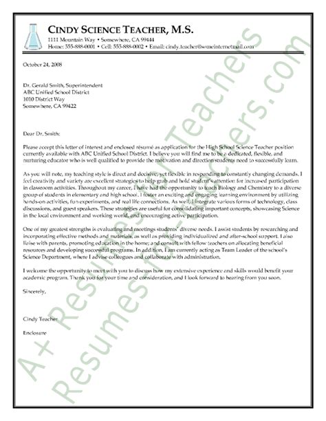examples of cover letters for first year teachers dolap magnetband co