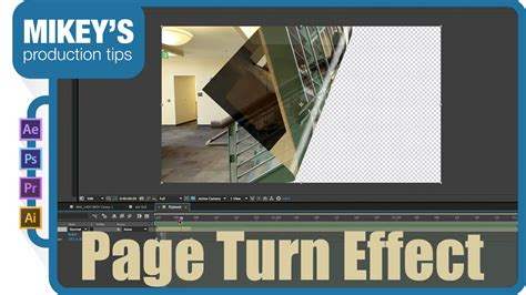 Page Turn Flip Book In After Effects Youtube After Effects Page Turn Template Free