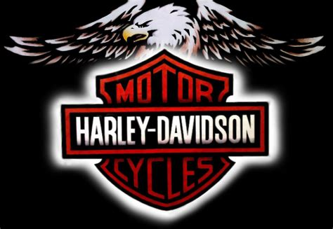 Harley Davidson Symbol by Harley Davidson Logo Wallpapers Wallpaper Cave