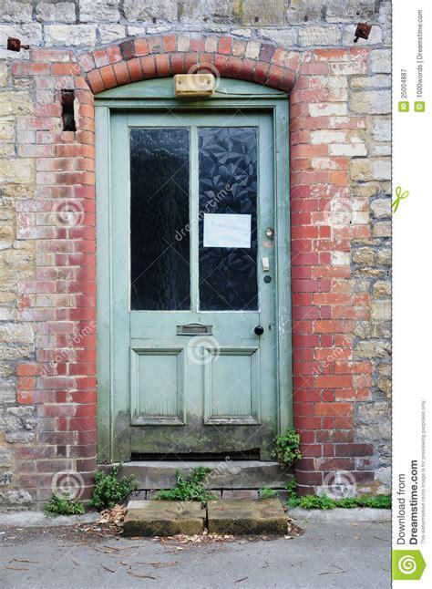hous com derelict house front door royalty free stock photography