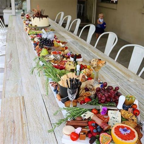 home trends and design buffet diy grazing table family sized edible crafts