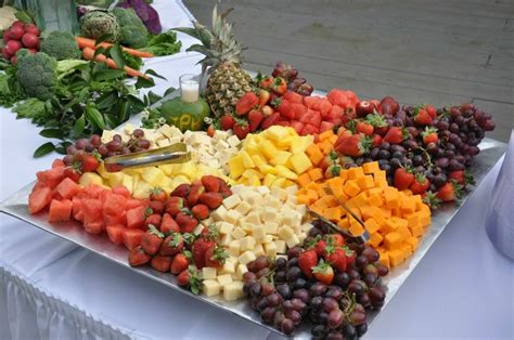 fruit and cheese display seasonal fruit and cheese display catering