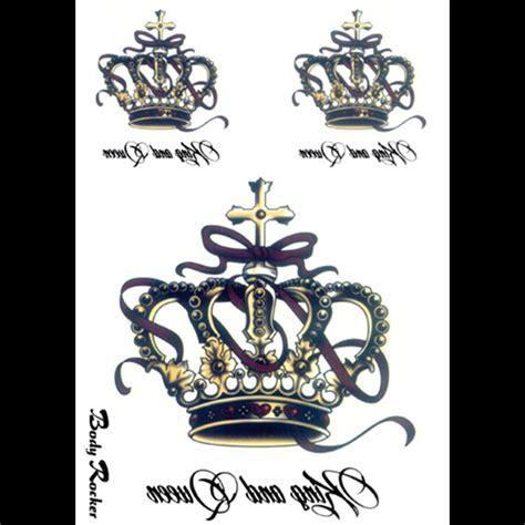 achetez en gros roi couronne tatouages en ligne 224 des