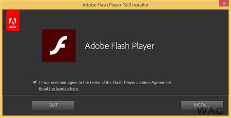 flash install windows administrator center adobe flash player 18 0 0 232 is now available for