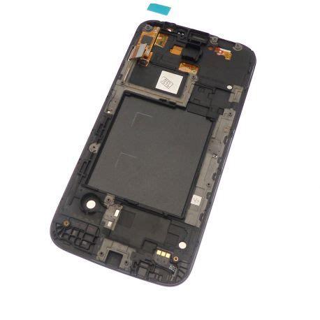Samsung Galaxy Mega 58 I9152 Lcd ecran vitre tactile et lcd assembl 233 s sur chassis noir