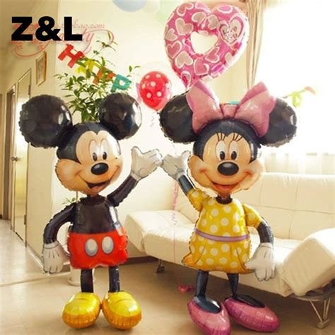 Balon Foil Doraemon Jumbo 52 minnie mouse airwalker jumbo foil balloon mickey mouse airwalker mylar ballons minnie mouse