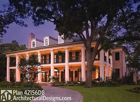 plantation style homes for sale plan 42156db your very own southern plantation home
