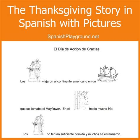 thanksgiving coloring page in spanish 1504 best images about spanish for kids on pinterest