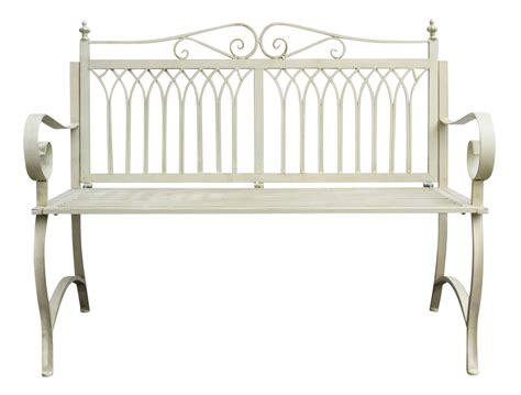 metal garden bench ebay antique style garden bench metal cream white furniture