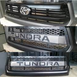 2016 tundra grille insert with color matched lettering dbcustomz