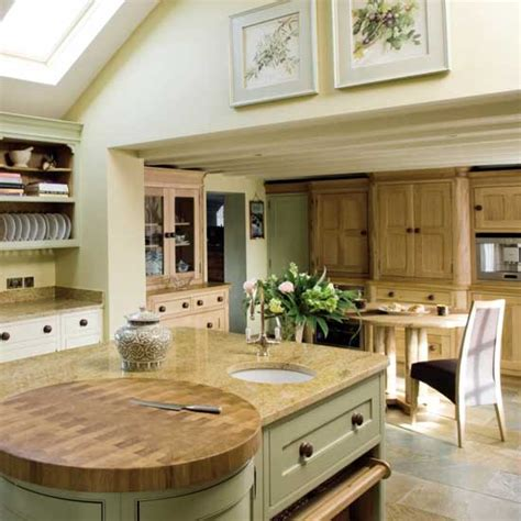open plan neutral kitchen kitchen diners housetohome co uk light bright kitchen diner ideal home