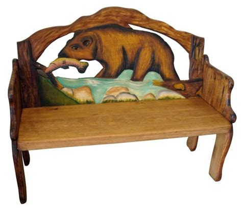 Painted Mexican Furniture by Mexican Painted Furniture Mexican Rustic Furniture And