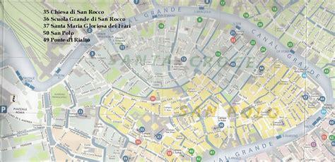 kappi universit 224 mappa della mappa venezia centro percorsi su passerelle comune di