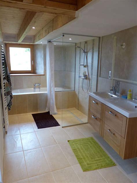 les peyriers 187 salle de bains une construction