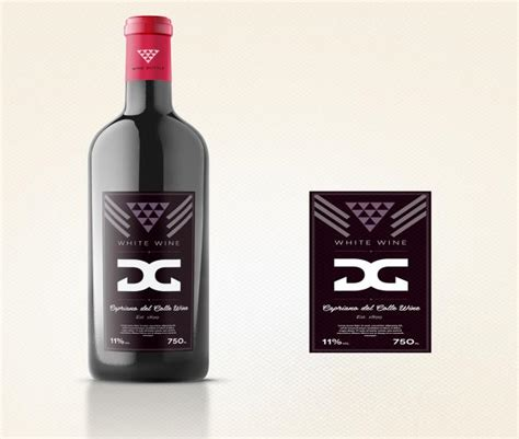 wine label design history leonard lude gets impressive wine bottle label design