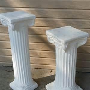 Plaster Pedestal Columns Plaster Of Columns Design Ideas Studio Design