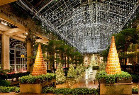 longwood gardens lights longwood gardens a twinkling