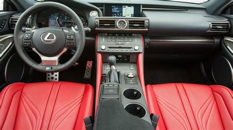 rcf lexus 2017 interior 2017 lexus rc f interior youtube