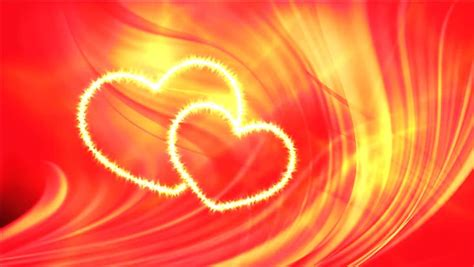 Wedding Hd Backgrounds With Hearts by Motion Hearts Wedding Background Stock Footage