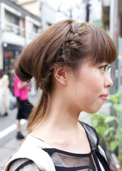 girl japanese hairstyles japanese girls braided hairstyle hairstyles weekly