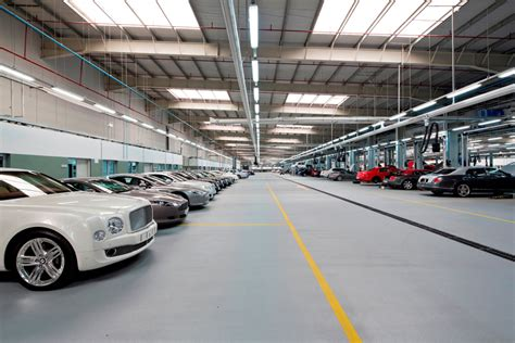 bentley garage world s biggest bentley workshop in dubai motoring