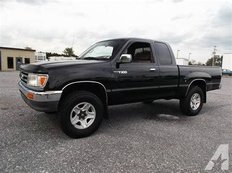 Toyota T100 4x4 For Sale 1997 Toyota T100 Extended Cab Standard Bed Sr5