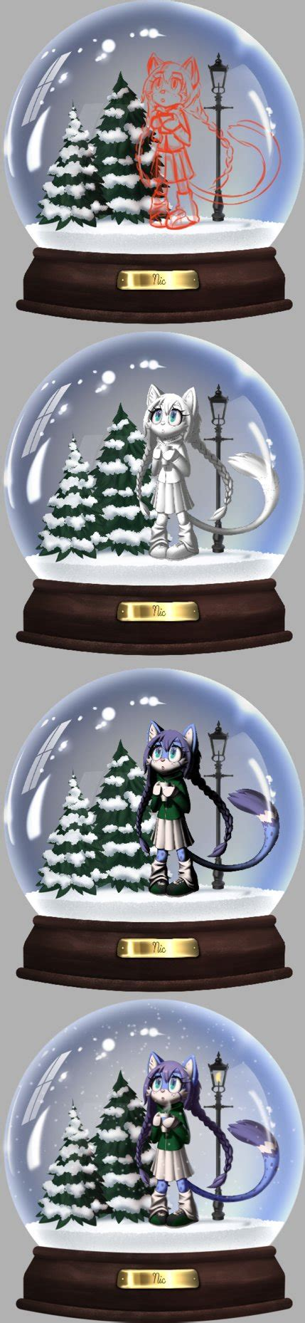 process of manufacturing snow globe snow globe process by v mordecai on deviantart