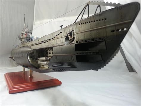weighing boat deutsch 1 72 viic u boat submarine models pinterest boating
