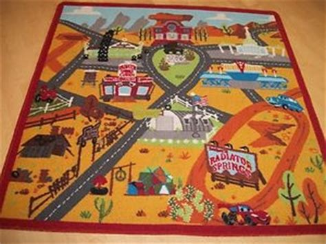 Disney Cars Play Rug by Disney Cars 2 Lightning Mcqueen Radiator Springs Town Play