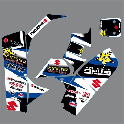Suzuki Lt50 Stickers Kit D 233 Co Rockstar 3 Suzuki Lt 50 Gtino