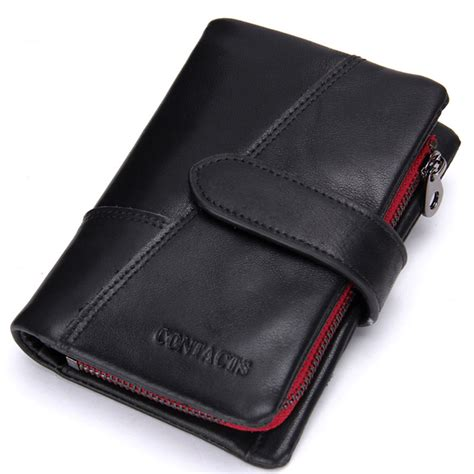 Dompet Pria Bogesi Leather S Wallet Coffee Brown genuine leather wallet vintage standstone wallets purse coin bag black colour