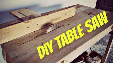 Meja Potong Kayu diy simple table saw