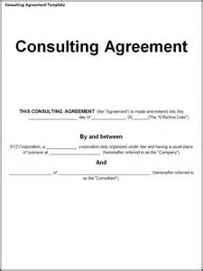 Consulting Agreements Template consulting agreement template word excel pdf