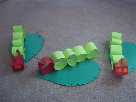 caterpillar crafts for hungry caterpillar