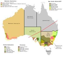 regional map of australia file australian wine zones2 png