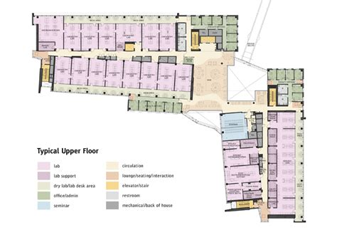 umass floor plans integrated sciences complex design