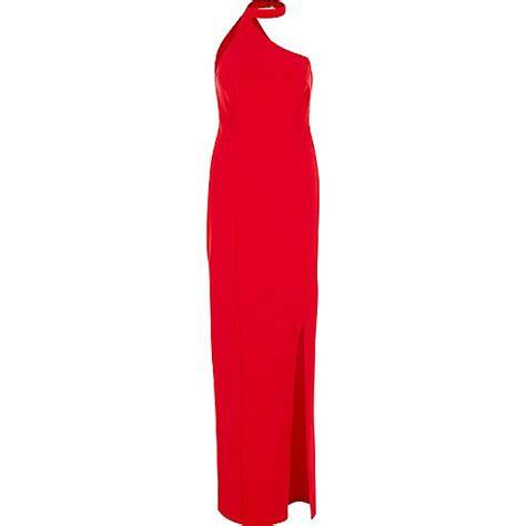 One Shoulder Chocker Dress one shoulder choker maxi dress maxi dresses